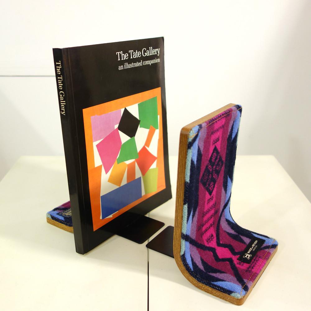 【送料無料】【正規取扱店】【PENDLETON x MADE BY SEVEN -REUSE-】PLYWOOD BOOK STAND