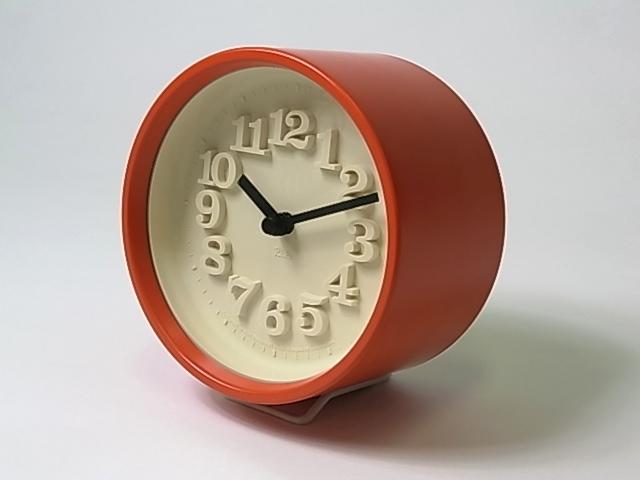 【渡辺 力】 小さな時計・レッド