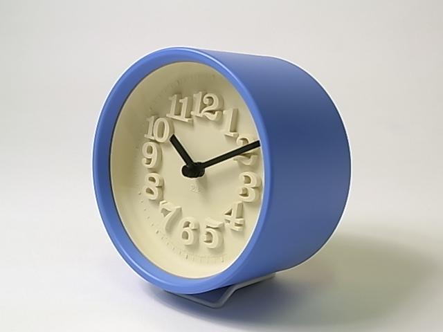 【渡辺 力】 小さな時計・ブルー