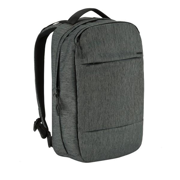 正規取扱店・Incase City Collection Compact Backpack HEATHER BLACK インケース シティコレクション コンパクト バックパック ヘザーブラック