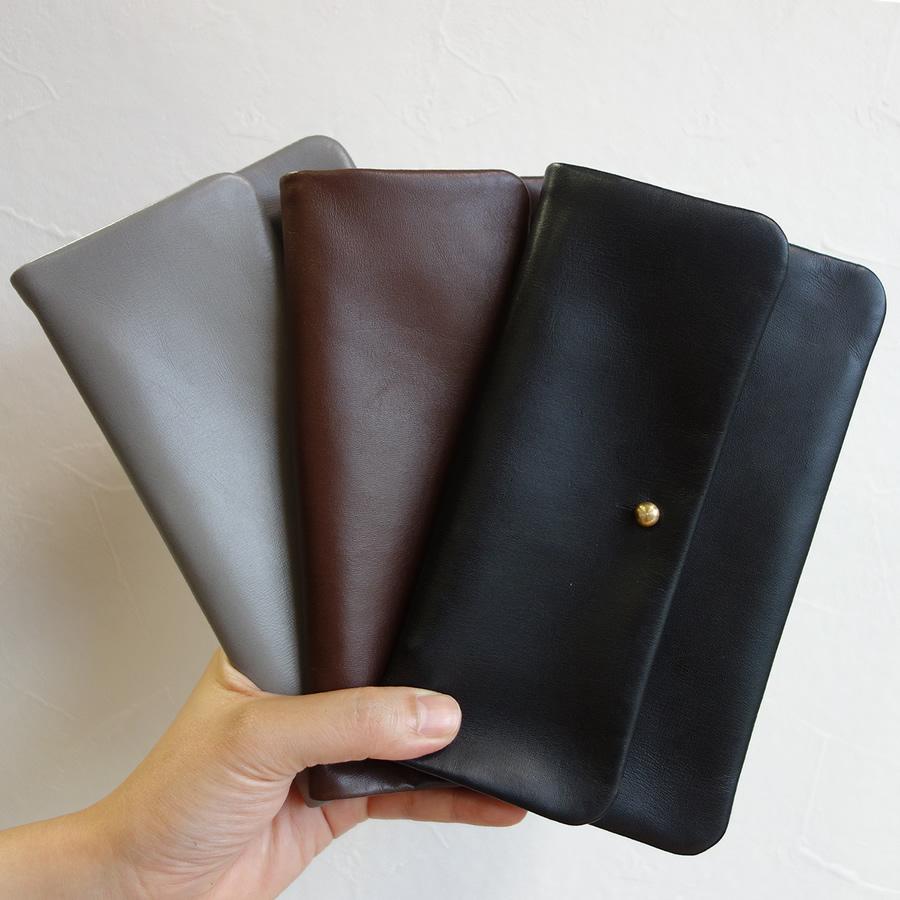 【送料無料】【Alice Park】Single Flap Wallet【アリスパーク レザー シングルフラップウォレット 財布】