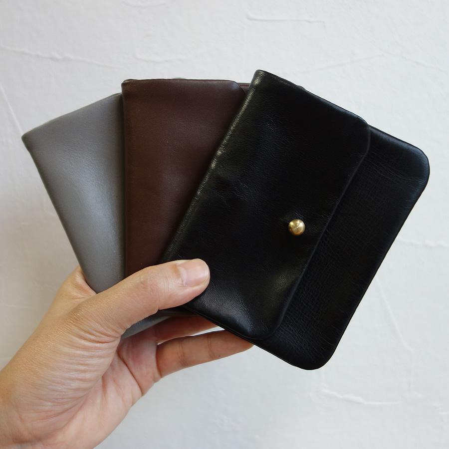 【送料無料】【Alice Park】Half Single Flap Wallet【アリスパーク レザー ハーフ シングルフラップウォレット 財布】