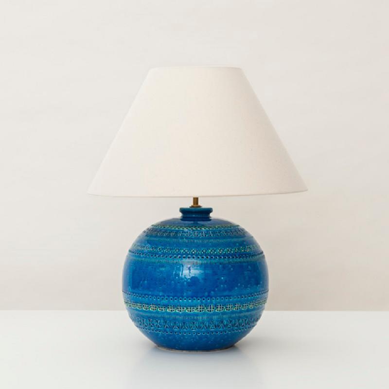 【BITOSS】Rimini Blue/リミニブルー Base Lamp Low/ベースランプ ロウ