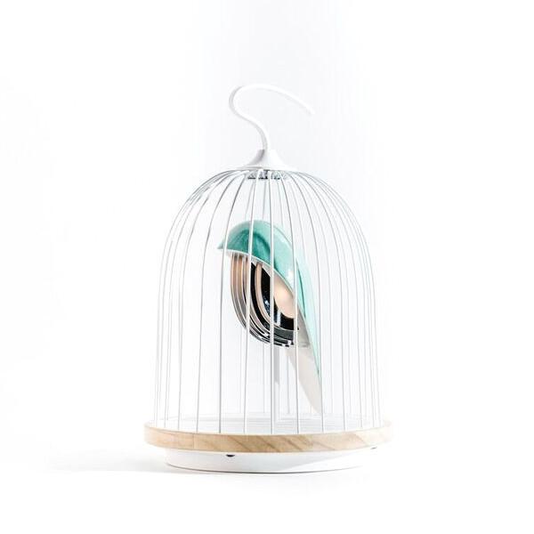 【JinGoo】 THT JinGoo L'oiseau Bleu LED照明 Bluetooth ワイヤレススピーカー