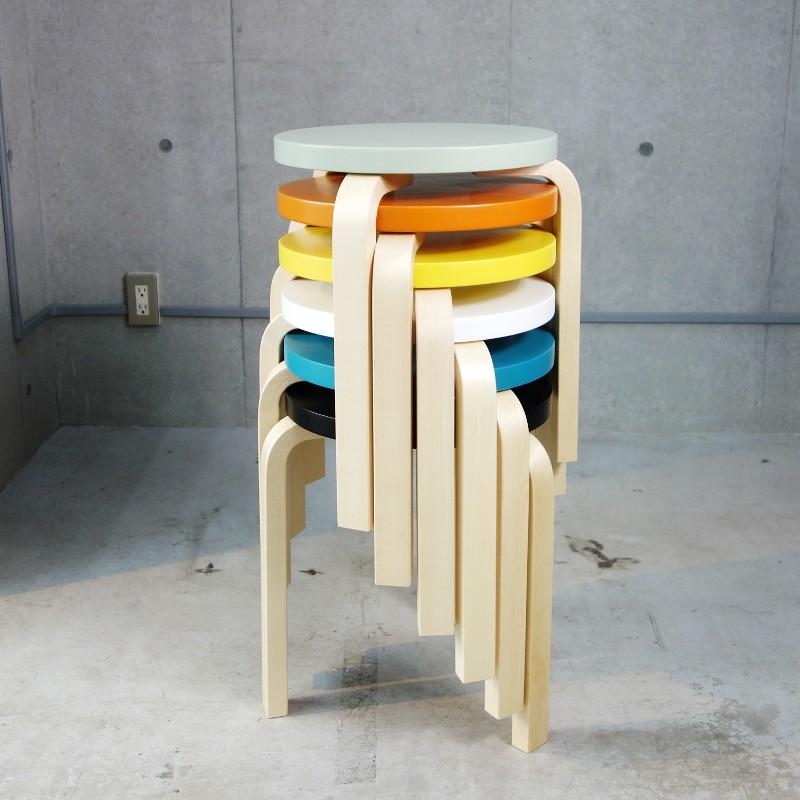 【正規取扱店】Artek/アルテック Stool 60 ・80th Anniversary Paimio Color