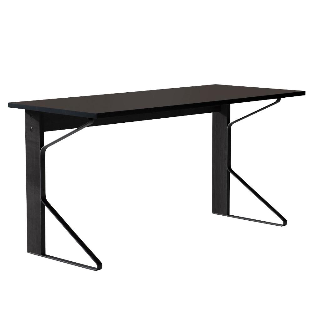 【正規取扱店】Artek/アルテックKaari Desk (REB005) / ブラックリノリウム 1500×650mm