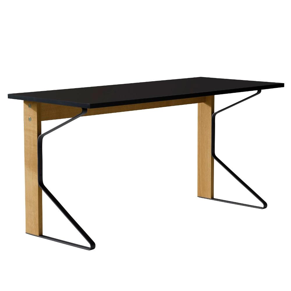 【正規取扱店】Artek/アルテックKaari Desk (REB005) / ブラックグロッシーHPL 1500×650mm