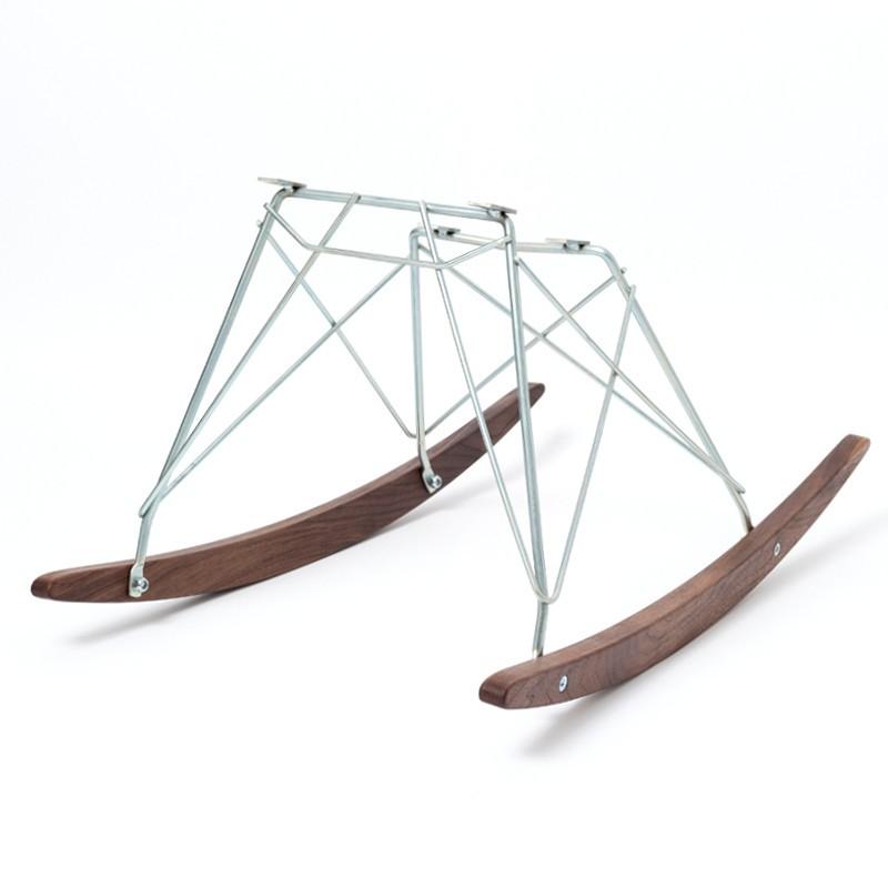 ロッカーベース Rocker Base Walnut/Zinc Replica for Eames Shell Chair