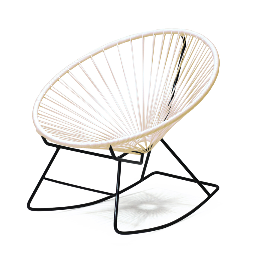 Acapulco Rocking Chair / Acapulco Rocking Chair Parchment