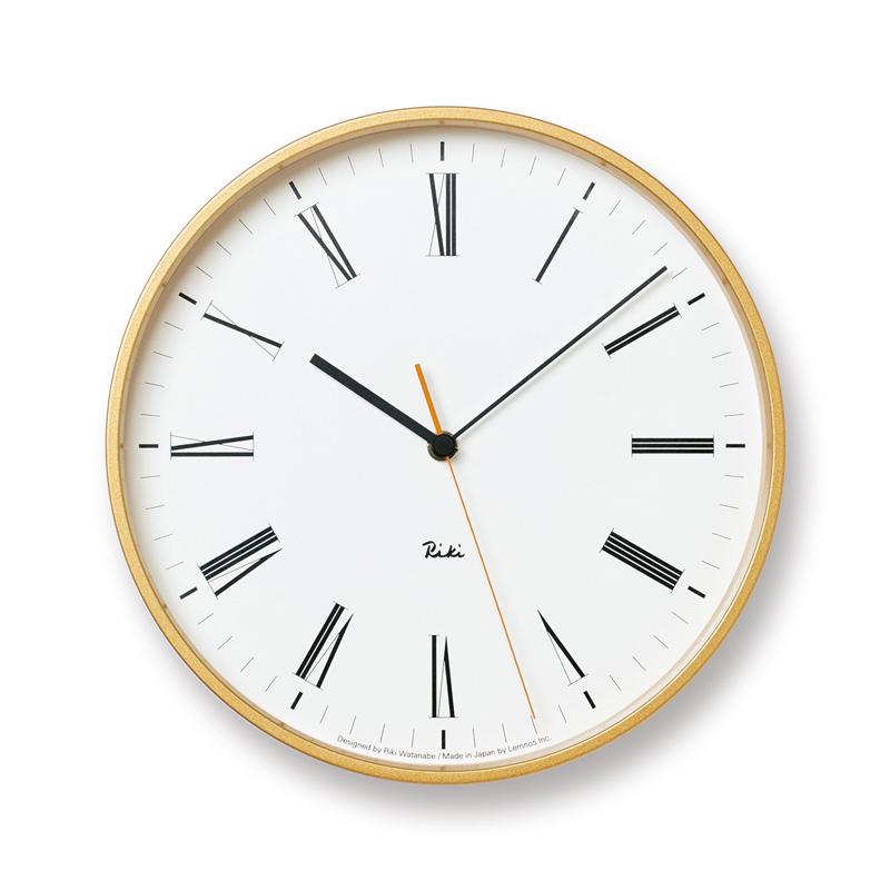 【正規取扱店】RIKI Roman Clock (WR17-12)/リキ ローマンクロック