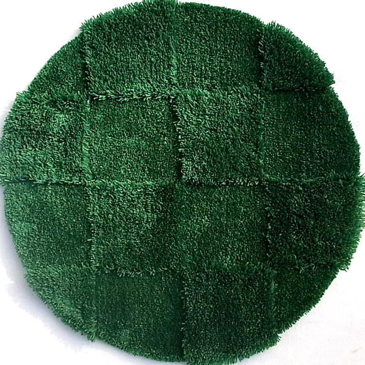 【サイズ変更可能】【Mid-Century MODERN】オーダーラグマット No51・サークル・グリーン・直径600mm No51・サークル・グリーン・直径600mm No51・サークル・グリーン・直径600mm 3ad
