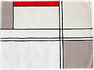 【サイズ変更可能】【Mid-Century MODERN】 オーダーラグマット No12・スクエア・2000x1500mm