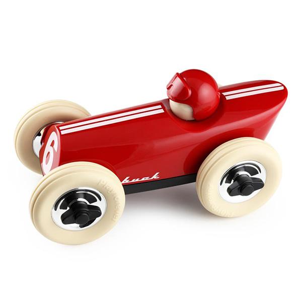 【Playforever】MIDI 601 Buck Red・レーシングカー【イギリス デザイン ギフト 出産祝い 引越し祝い】