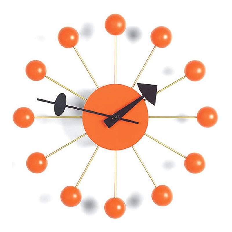 【正規取扱店】Vitra/ヴィトラ Ball Clock・ボールクロック・オレンジ
