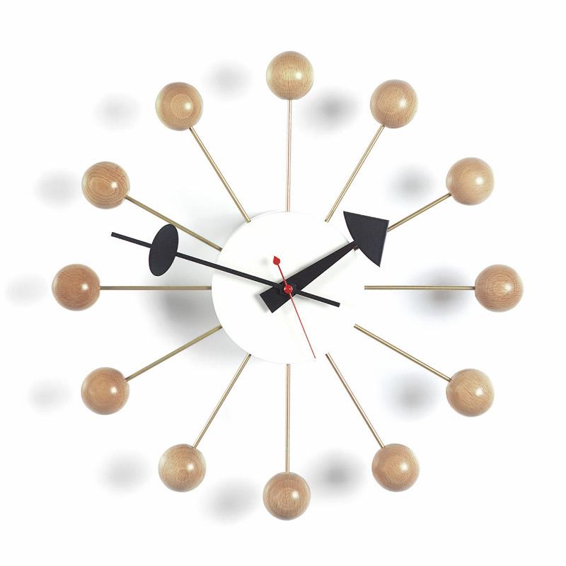 【正規取扱店】Vitra/ヴィトラ Ball Clock・ボールクロック・ナチュラル