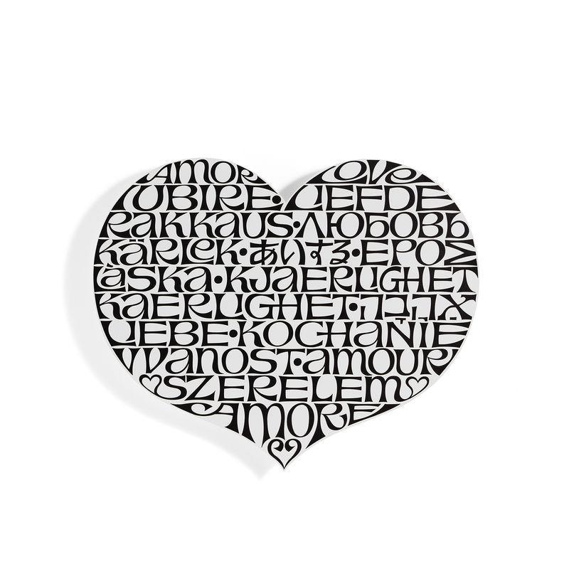 【正規取扱店】Vitra/ヴィトラ Metal Wall Relief/メタルウォールレリーフ Love Heart /ラブハート