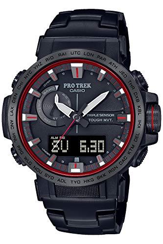 カシオ 腕時計 プロトレック クライマーライン 電波ソーラー 5☆大好評 ブラック 高額売筋 メンズ PRW-60YT-1JF