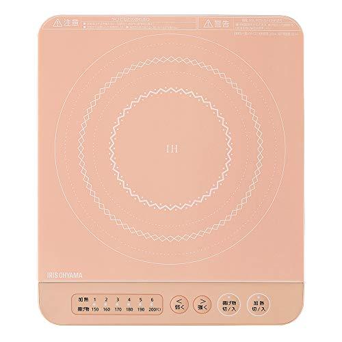 数量限定 アイリスオーヤマ IHコンロ 1400W 卓上 IHK-T37-P ピンク デザイン 当店は最高な サービスを提供します