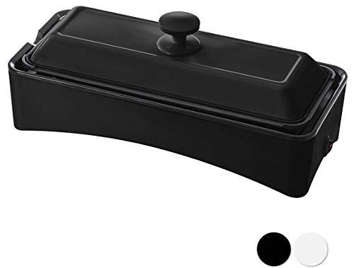 山善 ホットプレート 2WAY スリム YOF-W120 メーカー保証1年 品質保証 B 人気上昇中 たこ焼きプレート付き