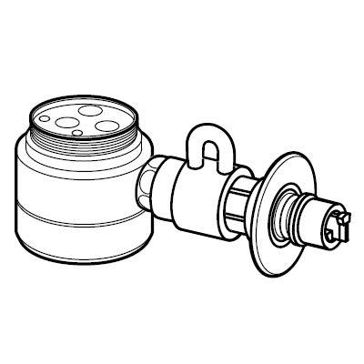 パナソニック 激安通販販売 食器洗い乾燥機用分岐栓Panasonic CB-SEF8 未使用品