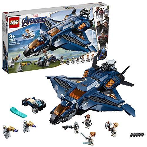 大人気 レゴ LEGO スーパー ヒーローズ アベンジャーズ アルティメット おもちゃ 男の子 クインジェット 即日出荷 76126 ブロック