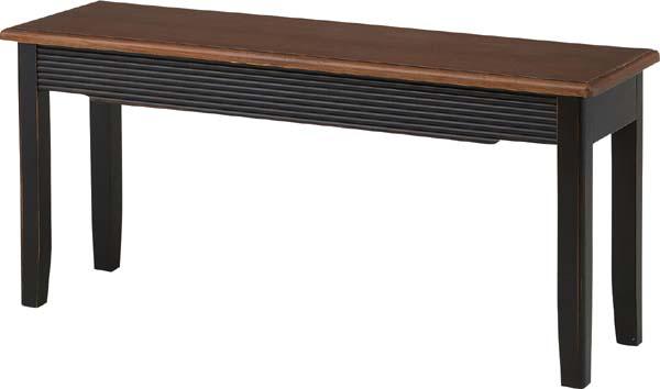 【東谷 AZUMAYA】ダイニングベンチ 椅子 チェア BOS-002 おしゃれ/かわいい【東谷商品以外と同梱不可】
