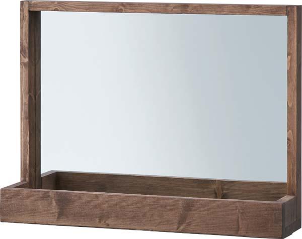 【東谷】ミラー 鏡 卓上 木製 CFS-844 おしゃれ/かわいい【東谷商品以外と同梱不可】