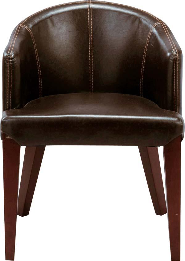 【東谷】ダイニングチェア 椅子 HOC-55DBR おしゃれ/かわいい【東谷商品以外と同梱不可】