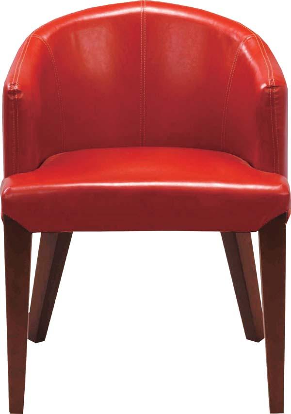 【東谷】ダイニングチェア 椅子 HOC-55RD おしゃれ/かわいい【東谷商品以外と同梱不可】