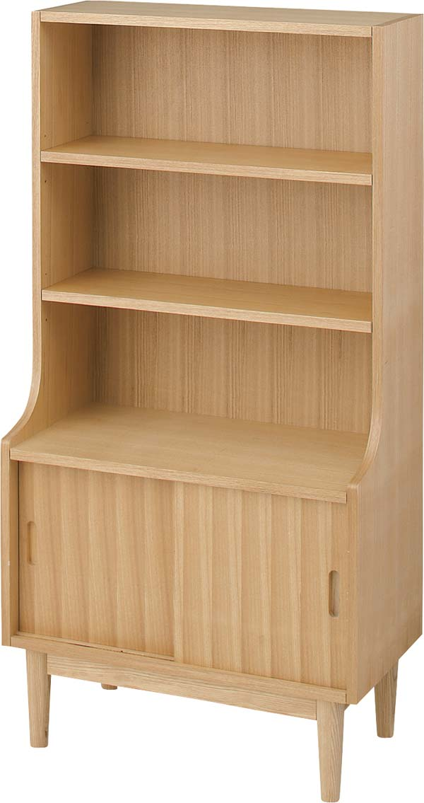 【東谷】シェルフ 収納棚 HOT-536NA 木製/おしゃれ/かわいい【東谷商品以外と同梱不可】