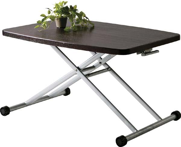 【東谷】リフトテーブル 昇降式テーブル MIP-36BR おしゃれ/かわいい【東谷商品以外と同梱不可】