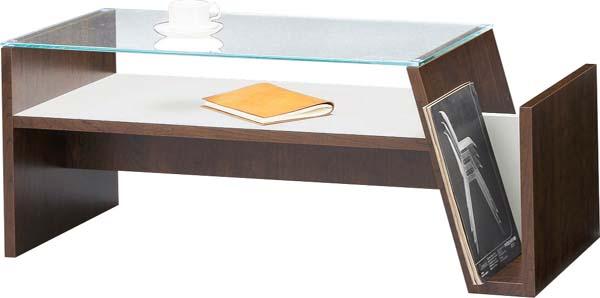 【東谷】モカ コーヒーテーブル センターテーブル ガラス MOC-01BR おしゃれ/かわいい【東谷商品以外と同梱不可】