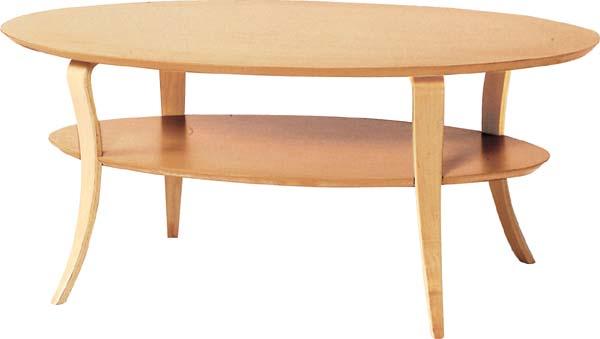 【東谷】テーブル 楕円 オーバルテーブル NET-406NA おしゃれ/かわいい【東谷商品以外と同梱不可】