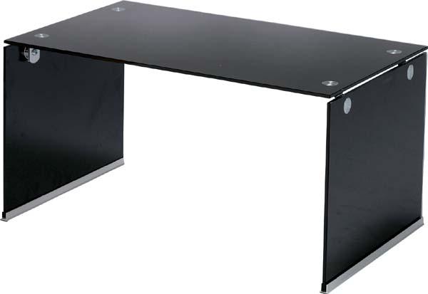 【東谷】ガラステーブルS PT-28BK 【東谷商品以外と同梱不可】