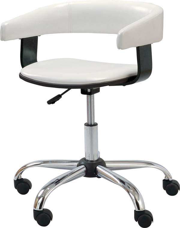 【東谷】デスクチェア 椅子 オフィスチェア RKC-261WH おしゃれ/かわいい【東谷商品以外と同梱不可】
