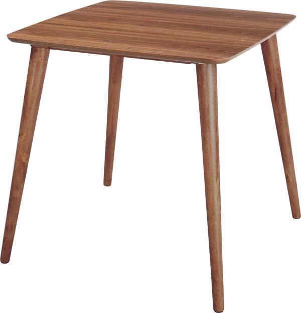 【東谷】トムテ ダイニングテーブル 食卓テーブル TAC-241WAL おしゃれ/かわいい【東谷商品以外と同梱不可】