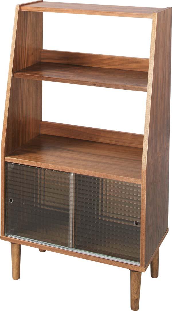 【東谷 AZUMAYA】シェルフ 収納棚 飾り棚 TAC-246WAL 木製/おしゃれ/かわいい【東谷商品以外と同梱不可】