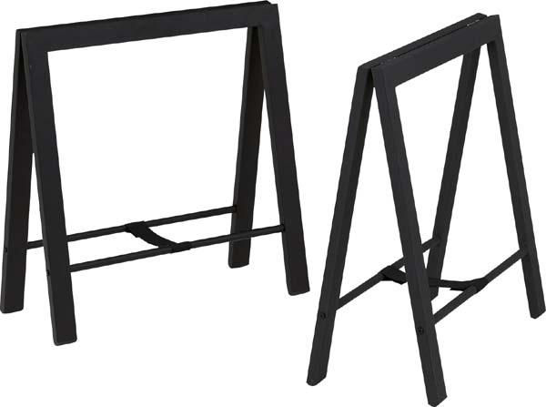 【東谷】テーブル 脚(2脚組) TL-111BK 【東谷商品以外と同梱不可】
