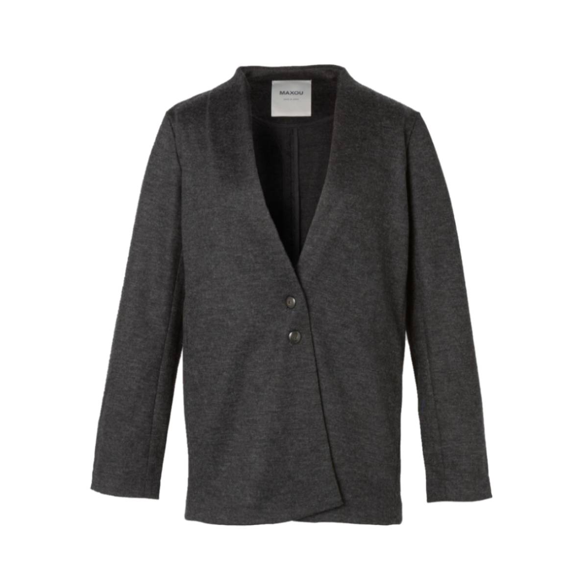 [50%OFF]MAXOU[マクゾゥ] MA492-9-0924-08CHARCOAL カットソー チャコール セットアップ,