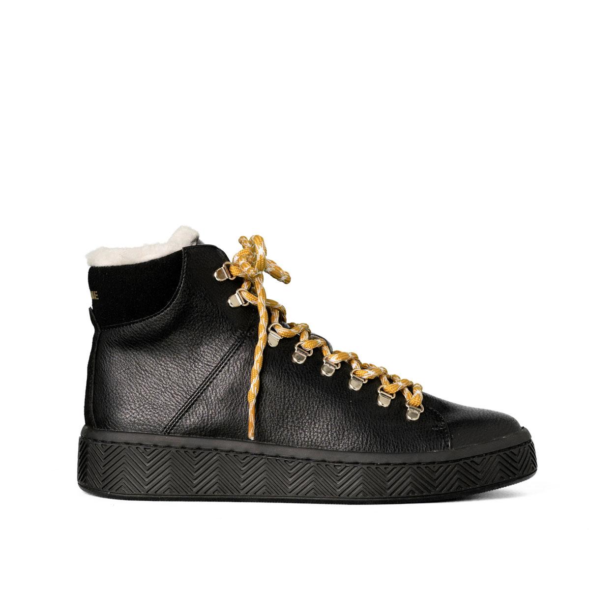 [2019秋冬]NO NAME[ノーネーム][スニーカー]GINGER(ジンジャー)-92458-BLACK[ブラック] レディース 靴 シューズ スニーカー ブーツ トレッキングシューズ 厚底 プラットフォームスニーカー