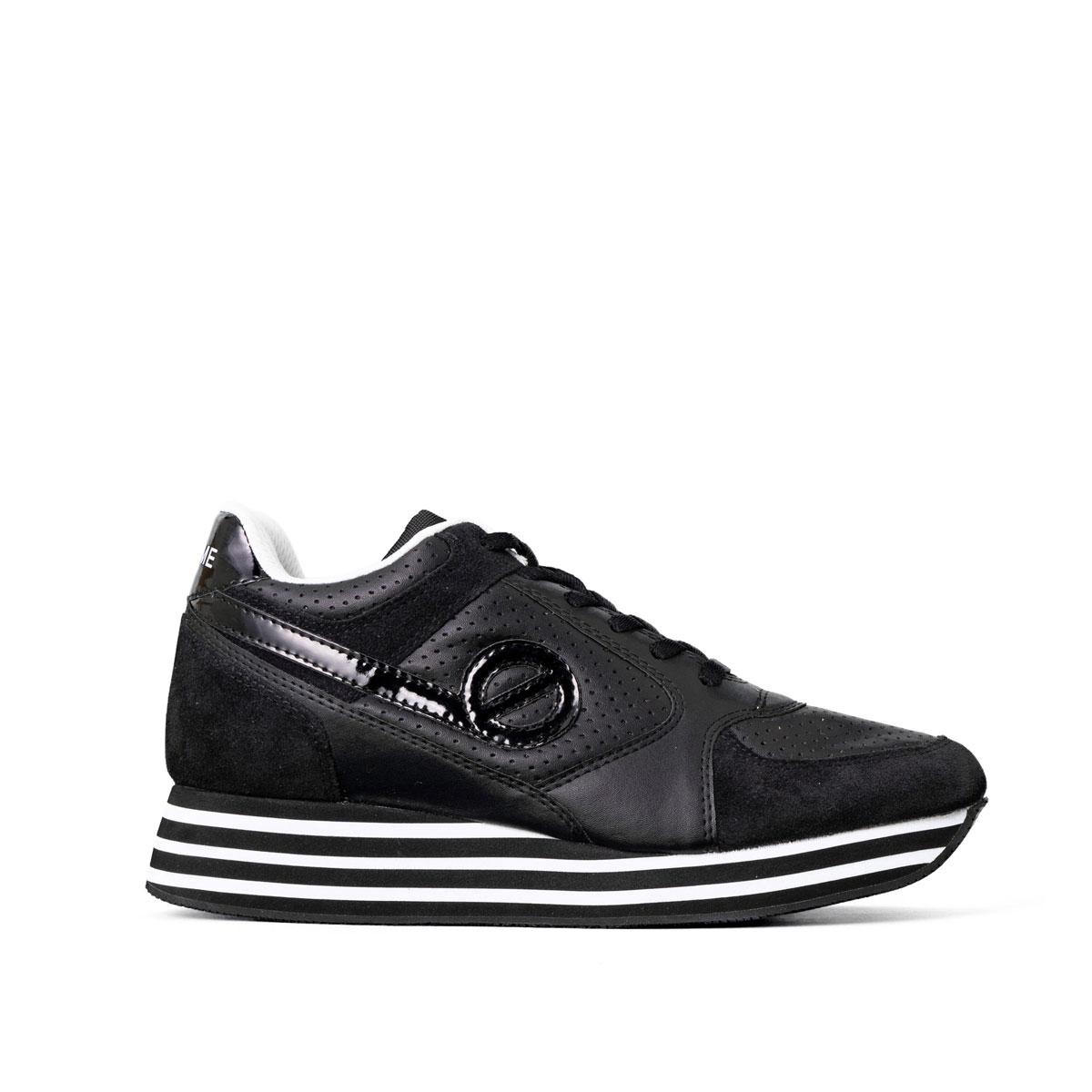 [一部サイズ予約販売]NO NAME[ノーネーム] [スニーカー] PARKO-01156-BLACK パルコ ブラック 黒、ブラック、厚底