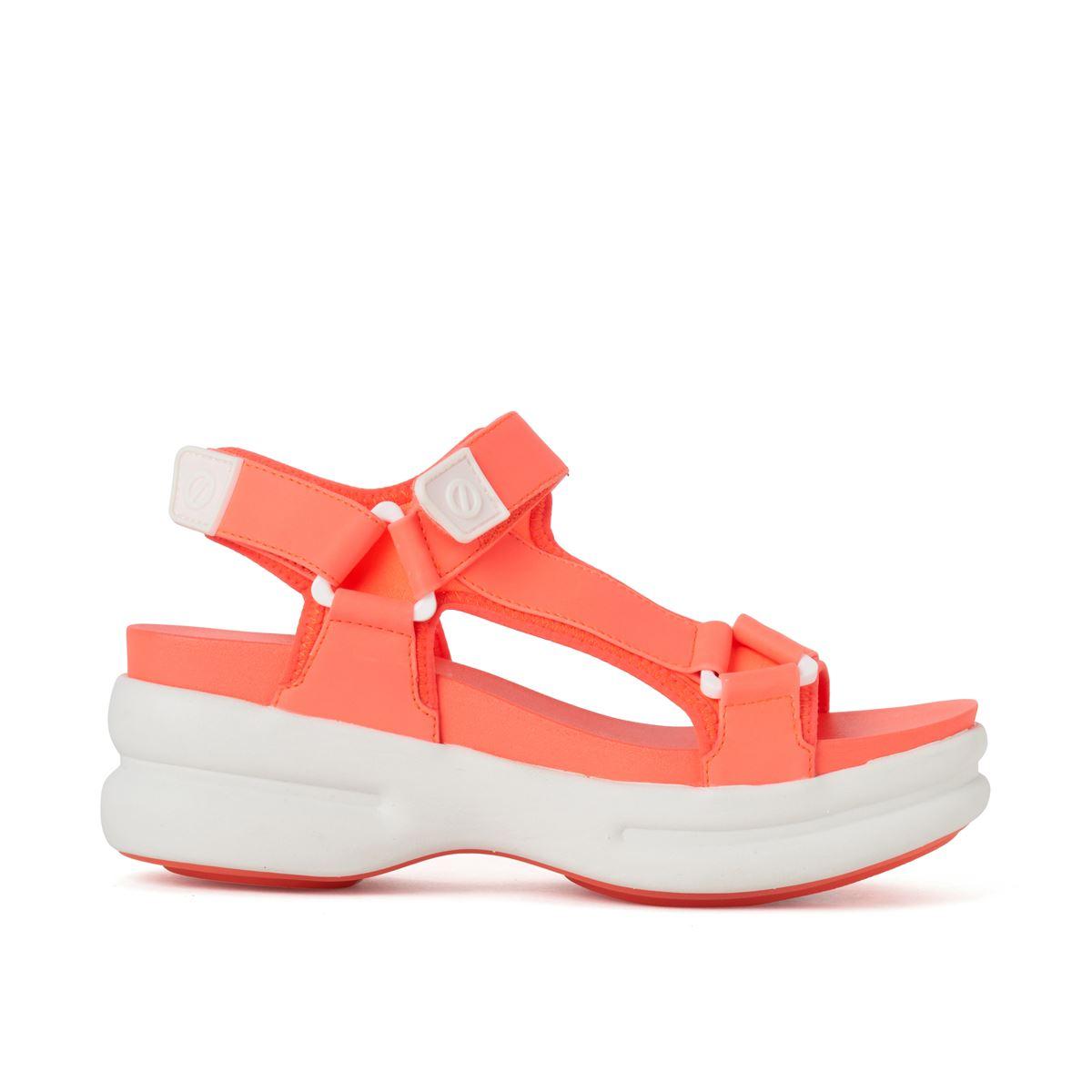 [新入荷] [2020春夏] NO NAME[ノーネーム] [サンダル] CONCRETE-01235-PINK コンクリート ピンク オレンジ,ピンク,プラットフォーム