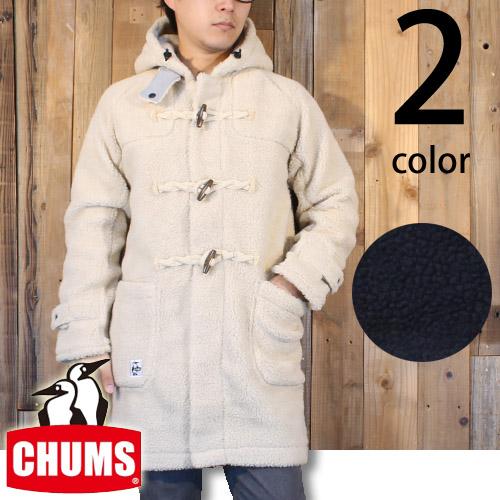 チャムス CHUMS ボア フリース ダッフル コート CH04-1045