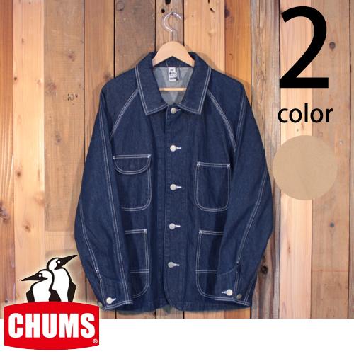 チャムス CHUMS ハリケーン ワーク ジャケット カバーオール CH04-1100