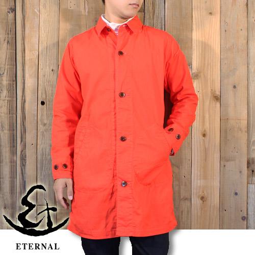 エターナル ETERNAL カラー オックスフォード シャツ コート 53748