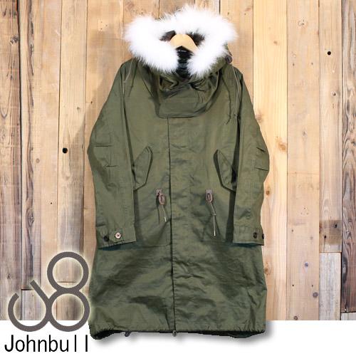 ジョンブル Johnbull レディース M-65 高密度 ツイル パーカー ジャケット AL785