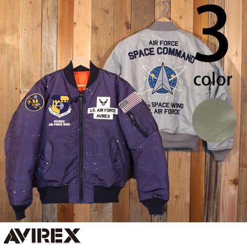 アヴィレックス AVIREX MA-1 ジャケット スペース コマンド フライト ミリタリー 6182184