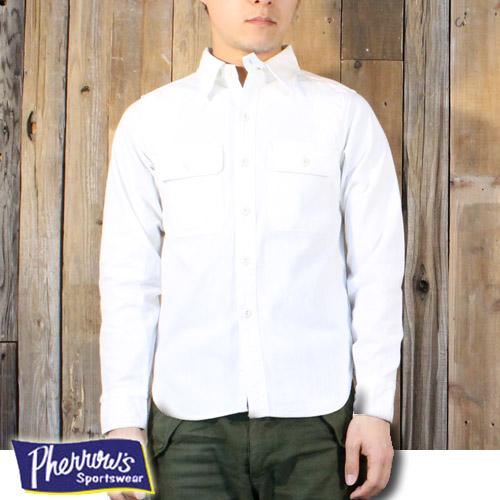 フェローズ Pherrow's '40年代モデル ワークシャツ 770WS