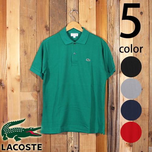 ラコステ LACOSTE プチピケ 鹿の子 ポロシャツ 半袖 クラシックフィット 日本製 L1212AL