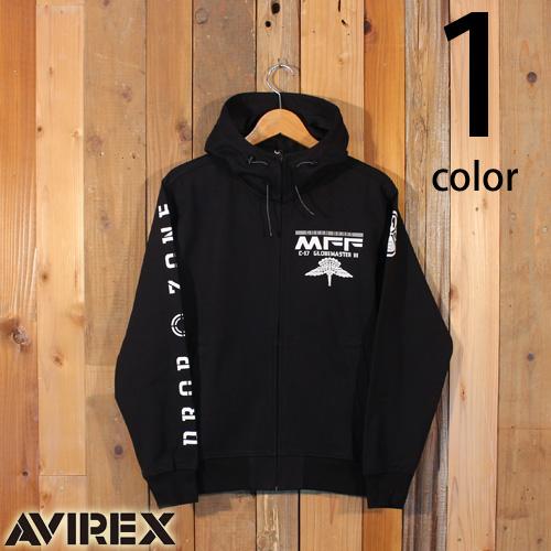 アヴィレックス AVIREX ウィンドガード ジップパーカー 6193479